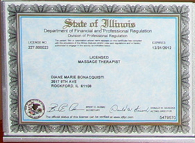 State of Illinois License